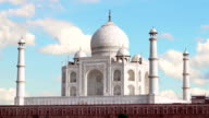 Taj Mahal, Agra. India. Time Lapse. video