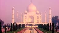 Taj Mahal early morning video