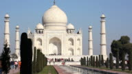 Taj Mahal in Agra, India video