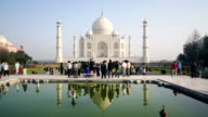 Taj mahal in Agra video