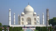 Taj Mahal, The Great Monument in Agra, India video