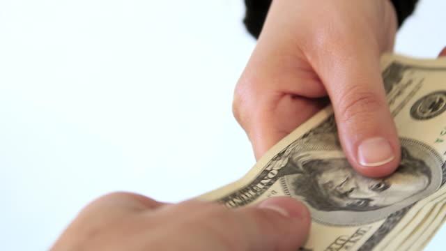 taking money video
