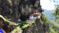 taktshang palphug monastery in bhutan video