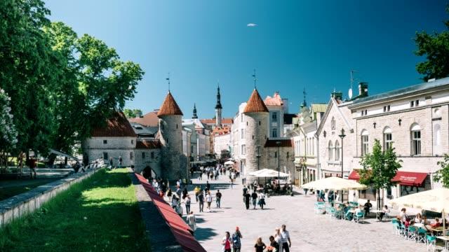 Tallinn Old Town Timelapse video