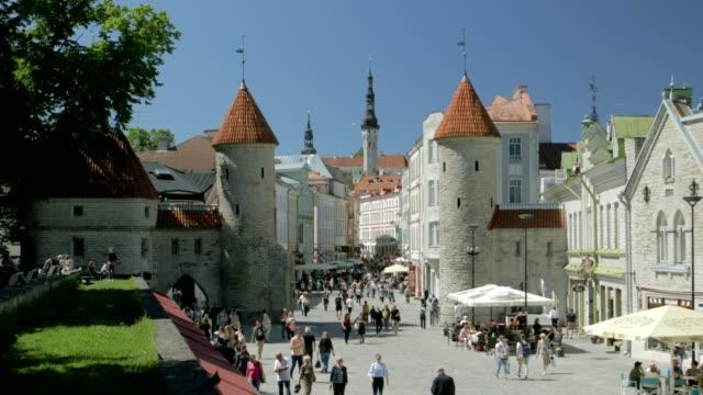 Tallinn Old Town video