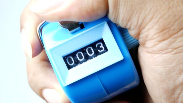 tally click counter video