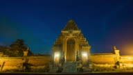 Taman Ayun Temple is a royal temple of Mengwi Empire located in Mengwi at twilight before night, Badung regency that is famous places of interest in Bali. video