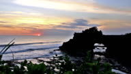 Tanah Lot sunset video