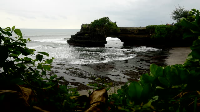Tanah Lot Temple, Bali, Indonesia video