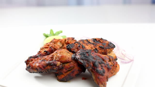 Tandoori Chicken - A famous Indian Cuisine video