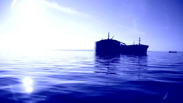 tanker at night video