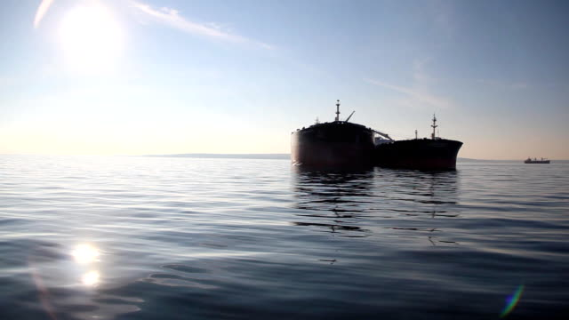 tanker in the outer harbor video
