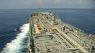 Tanker loaded oil from Persian Gulf. video
