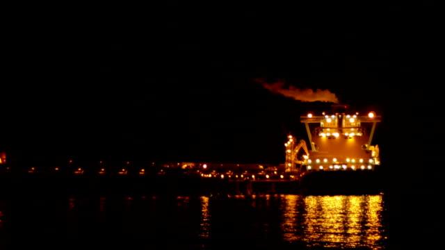LNG tanker video