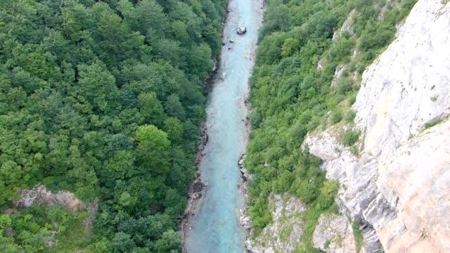 Tara River Canyon in Durmitor Mountains video