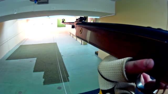 Target practice from an air gun video