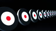 targets and arrows black video