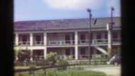 1952: Tarpon Inn hotel National Register of Historic Places on Gulf of Mexico. video