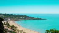 Tarragona beach video