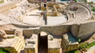 Tarragona historical ruins, Costa Daurada in Spain video
