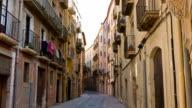 Tarragona old town, Catalonia, Spain video