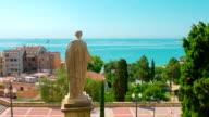 Tarragona, view on Mediterranean Sea, Costa Dorada, Catalonia Spain video