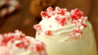 Tasty christmas peppermint white hot chocolate video