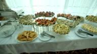 Tasty Snacks At the restaraunt video