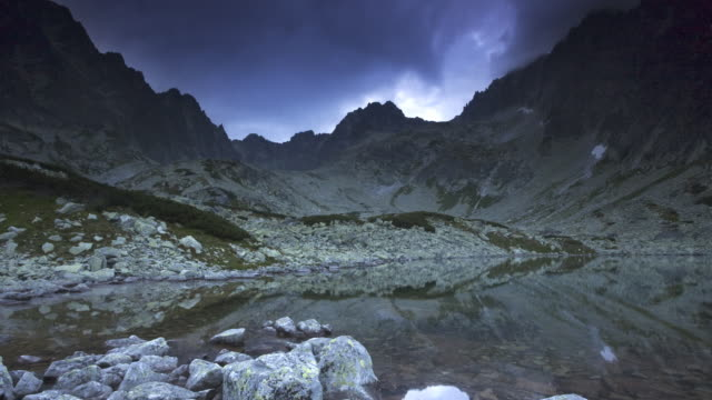 Tatra mountain lake video