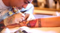 Tattooing video