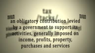Tax Definition video