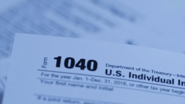 1040 Tax Form video