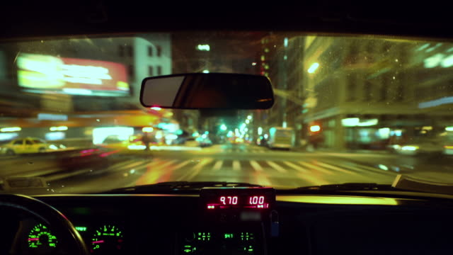 Taxi Time lapse video