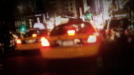 NYC Taxi Time Square video