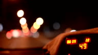 Taxicab interior video