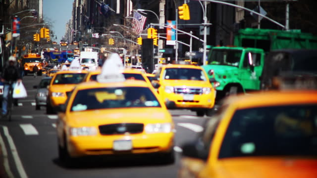 NYC taxis video