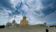Tbilisi Georgia Church time lapse video