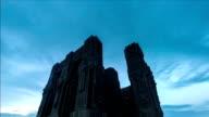 Tbilisi Georgia freedom monument cloudscape time lapse video