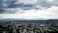 Tbilisi, Georgia. Panoramic View. Time Lapse video
