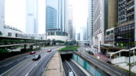 T/L WS TDHongkong City traffic video