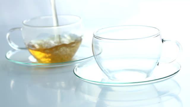 tea glasses video