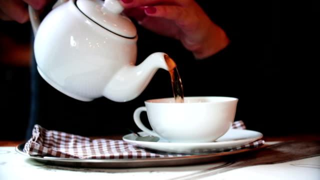 Tea time. video