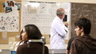 Teacher is upset over talking students video