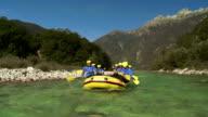 HD: Team Having Fun Rafting video