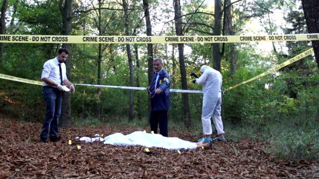Teamwork at the crime scene video