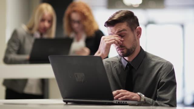 Teamwork Business People in office video