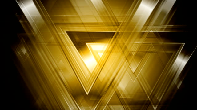 Tech abstract triangles video animation video