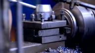 tech mechanics Inspector hand checks milling machine, tool to measure or just an expert checks the creation of item video