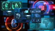 Technology Interface Computer Data Screen GUI 4K video