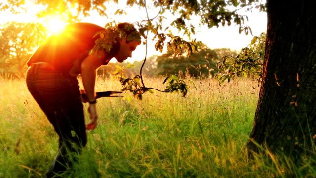 Technology Under A Shady Oak Tree video
